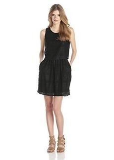 Lucky Brand Women's Black Lace Dress