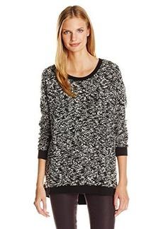 Lucky Brand Women's Boucle Pullover Sweatshirt