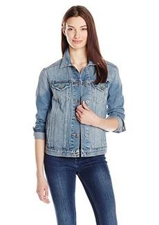 Lucky Brand Women's Boyfriend Denim Jacket
