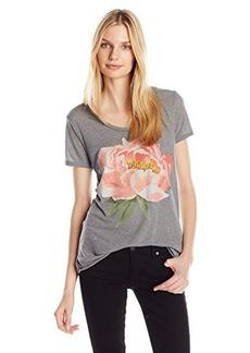 Lucky Brand Women's Coral Flower Tee