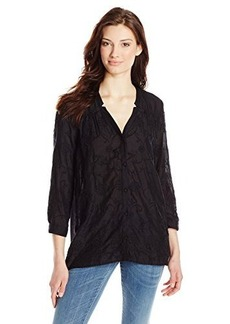 Lucky Brand Women's Darcey Embroidered Top