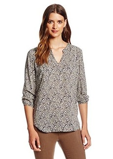 Lucky Brand Women's Ditzy Floral Top