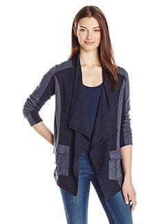 Lucky Brand Women's Drape Front Jacket