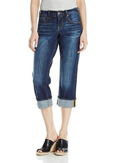 Lucky Brand Women's Easy Rider Crop Jean In Agate
