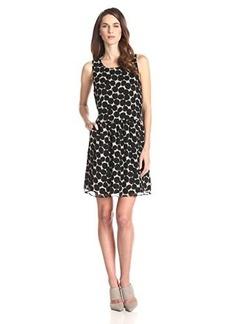 Lucky Brand Women's Exploded Polka Dot Dress