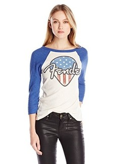 Lucky Brand Women's Fender Pic Thermal Top