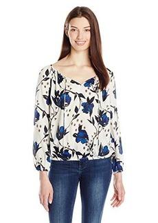 Lucky Brand Women's Floral Woven Top
