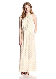 Lucky Brand Women's Geo Printed Maxi Dress