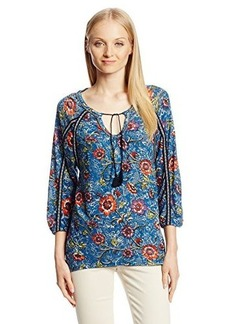 Lucky Brand Women's Halle Floral Top