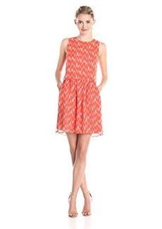 Lucky Brand Women's Ikat Tile Dress