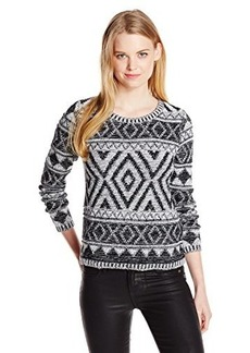 Lucky Brand Women's Jacquard Pullover Sweater