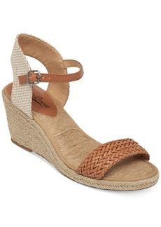 Lucky Brand Women's Kavelli Espadrille Two-Piece Platform Wedge Sandals