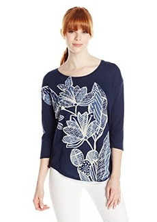 Lucky Brand Women's Lily Floral Tee