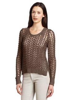 Lucky Brand Women's Macey Metallic Pullover Sweater