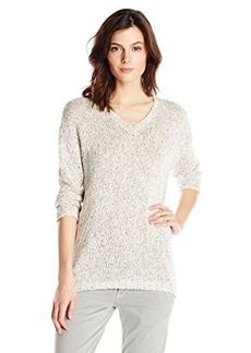 Lucky Brand Women's Marled Sweater Tunic Sweater