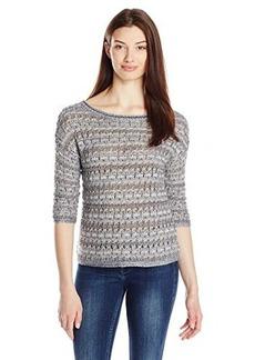 Lucky Brand Women's Metallic Pullover Sweater