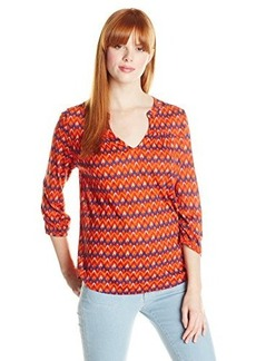 Lucky Brand Women's Mirna Geo Top