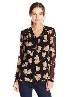 Lucky Brand Women's Mixed Floral Top