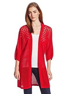 Lucky Brand Women's Mixed Stitch Sweater