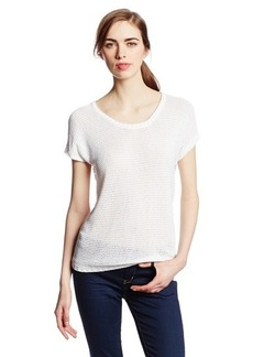 Lucky Brand Women's Oceanside Eyelet Sweater