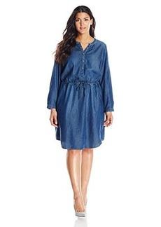 Lucky Brand Women's Plus-Size Chambray Dress
