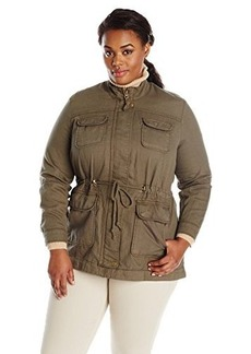 Lucky Brand Women's Plus-Size Core Military Jacket
