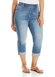 Lucky Brand Womens Plus-Size Emma Crop Jean in Arlie