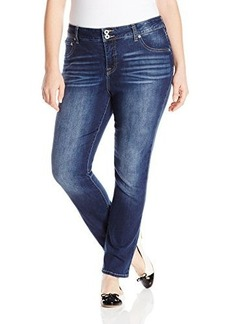 Lucky Brand Women's Plus-Size Emma Straight Jean In Cobalt Blue