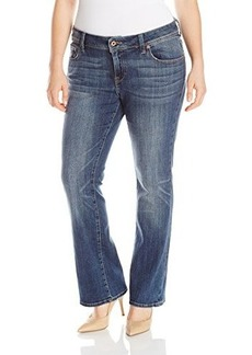 Lucky Brand Women's Plus-Size Georgia Boo Jean In Amber
