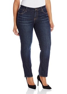 Lucky Brand Women's Plus-Size Ginger Petite Straight Jean In Ol' Stevens