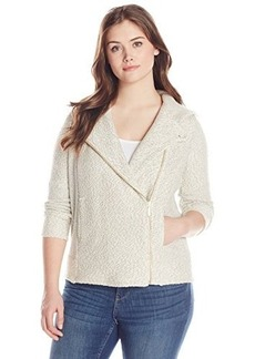 Lucky Brand Women's Plus-Size Hooded Active Jacket