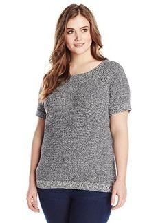 Lucky Brand Women's Plus-Size Indigo Pullover Sweater