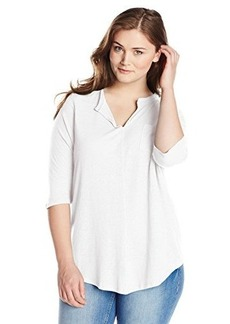 Lucky Brand Women's Plus-Size Pocket Tunic Top