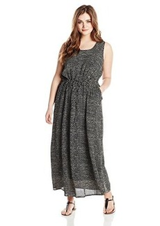 Lucky Brand Women's Plus-Size Polka Dot Dress