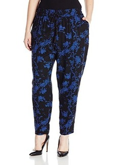 Lucky Brand Women's Plus-Size Printed Floral Pant