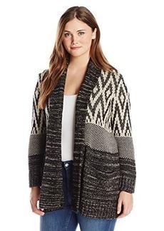 Lucky Brand Women's Plus-Size Stargazer Cardi Sweater