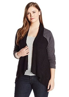 Lucky Brand Women's Plus-Size Sweater Active Wrap