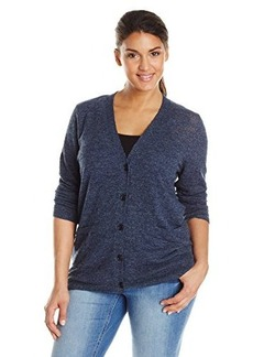 Lucky Brand Women's Plus-Size Textured Cardigan