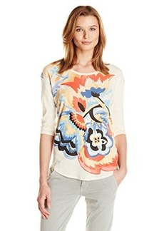 Lucky Brand Women's Pop Floral Tee