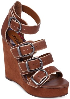 Lucky Brand Women's Rayah Platform Wedge Sandals