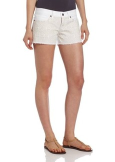 Lucky Brand Women's Riley Embroidered Short