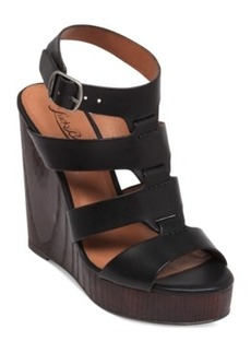 Lucky Brand Women's Roselyn Platform Wedge Sandals Women's Shoes