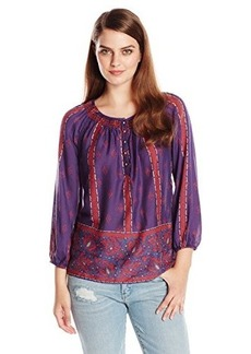 Lucky Brand Women's Rosie Printed Top