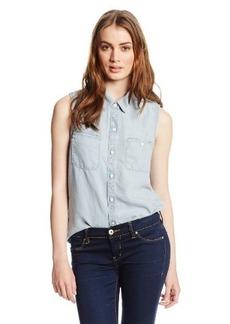 Lucky Brand Women's Sleeveless Tencel Shirt