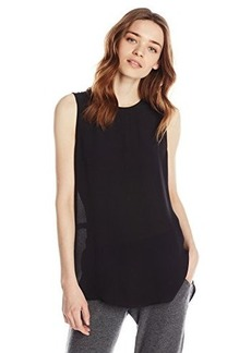 Lucky Brand Women's Solid Vented Tank