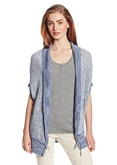 Lucky Brand Women's Space Dye Shrug Sweater