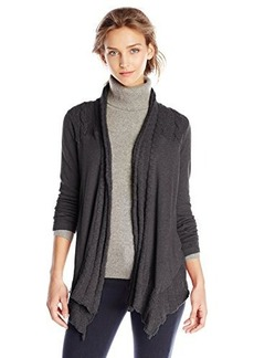 Lucky Brand Women's Sweater Yoke Wrap Sweatshirt
