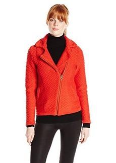 Lucky Brand Women's Textured Sweater Coat