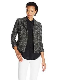 Lucky Brand Women's Textured Sweater Jacket