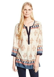 Lucky Brand Women's Tinsley Tunic Top